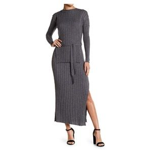 Fate by lfd ribbed long sleeve dress Nordstrom